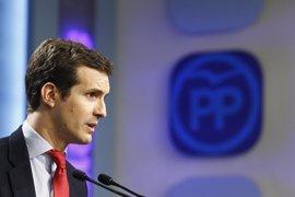 """El PP ve a Rajoy """"tranquilo"""" ante la aprobación de los PGE y espera acordar partidas concretas con el PSOE"""