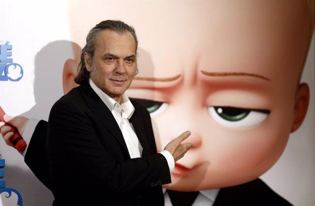 José Coronado presenta la película El bebé jefazo
