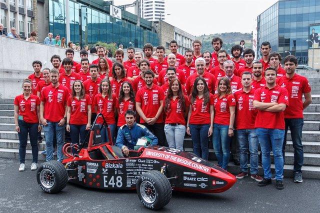Equipo de la Escuela de Ingeniería de Bilbao