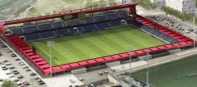 Así será el Estadio Johan Cruyff en la Ciudad Deportiva del FC Barcelona
