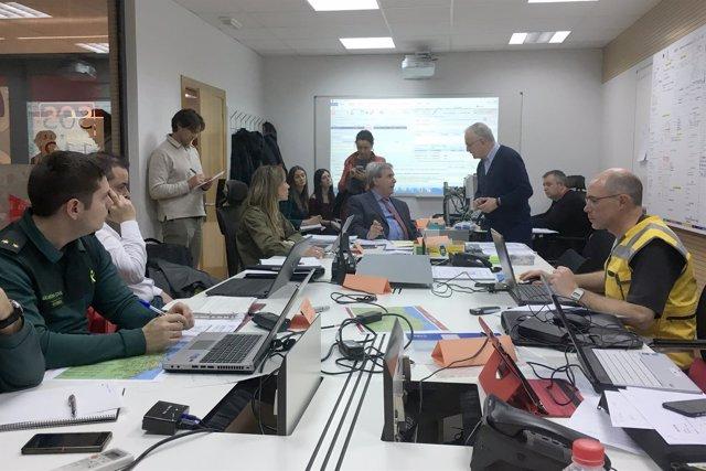 Coordinación del ejercicio 'Cantabria 2017'