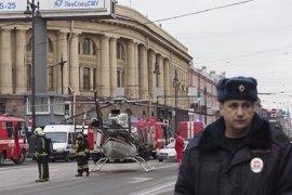 Las autoridades rusas investigan la explosión en el metro de San Petersburgo como un ataque terrorista