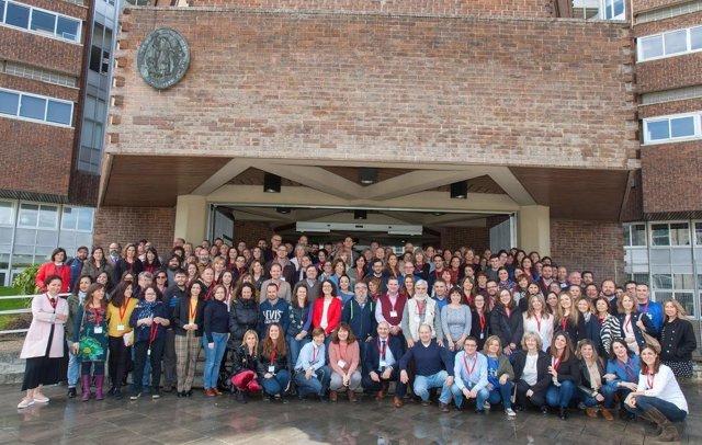 Participantes en el Congreso Nacoinal de Informadores de la Salud