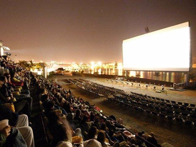 Sala De Cine De 'Open Air Madrid'