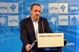 """UPN apoyará los PGE al llegar a un acuerdo con PP para """"hacer a Navarra más competitiva"""""""