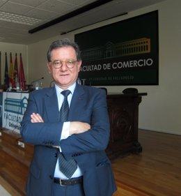 Carlos Castresana, en la Facultad de Comercio de la UVA.