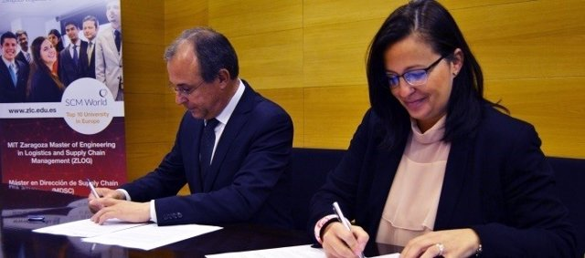 Firma de la III edición del Global Supply Chain Research Forum