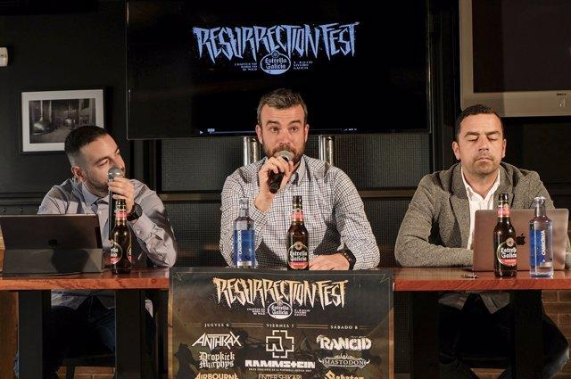 Presentación oficial del Reserruction Fest