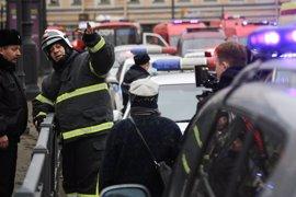 Emitidas dos órdenes de arresto por la explosión en el metro de San Petersburgo