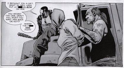 The Walking Dead: Así es en los cómics la muerte del final de la 7ª temporada