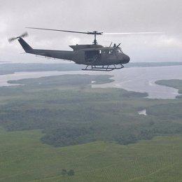 un helicóptero del ejercito de colombia