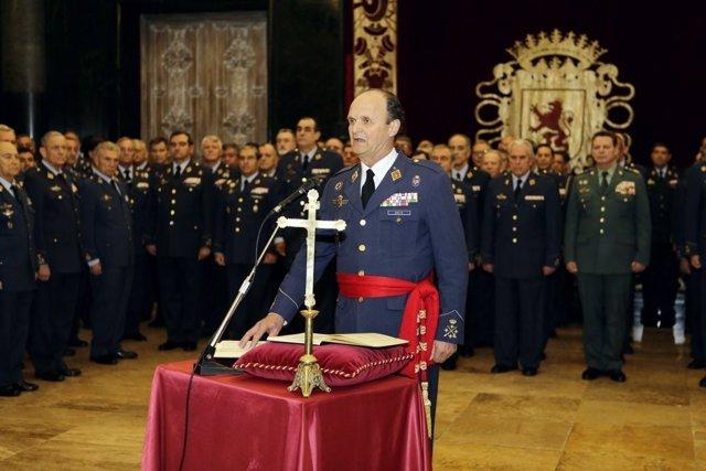 Javier Salto Martínez-Avial Toma Posesión Como Jefe Del Estado Mayor Del Aire