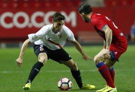 Sevilla Atlético y Numancia empatan y se afianzan en el ecuador de la tabla