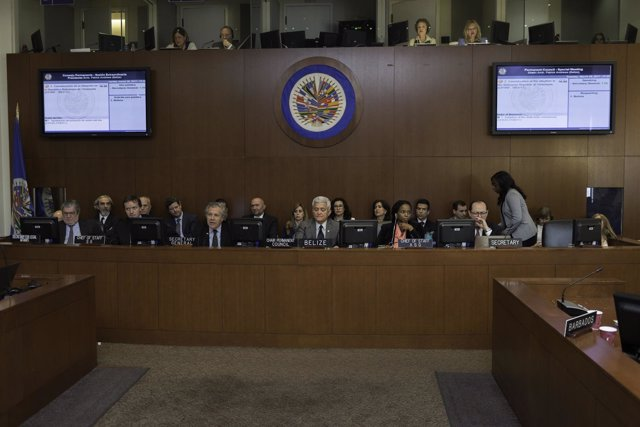Reunión extraordinario del Consejo Permanente de la OEA