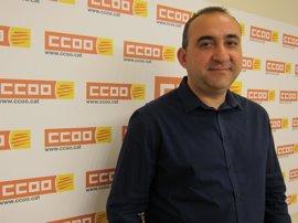 Pacheco asume esta semana la dirección de CC.OO. de Catalunya tras dos mandatos de Gallego