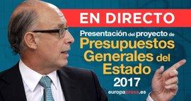 Presupuestos generales 2017   Directo: El Estado prestará a la Seguridad Social 10.192 millones para pagar pensiones