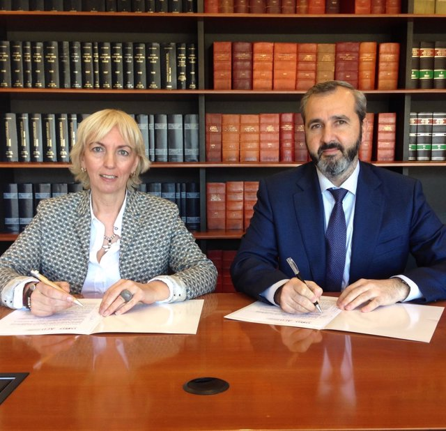 Carolina Pérez e Iñaki Garcinuño