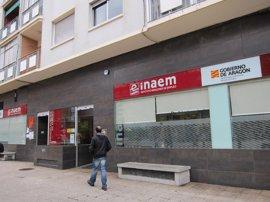 El número de desempleados baja en 1.560 personas en marzo en Aragón
