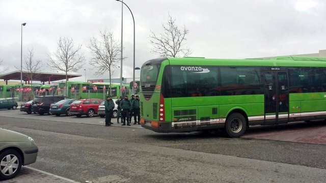 Autobuses Larrea en huelga