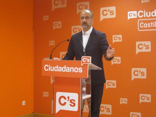 Valladolid. Luis Fuentes portavoz de Ciudadanos