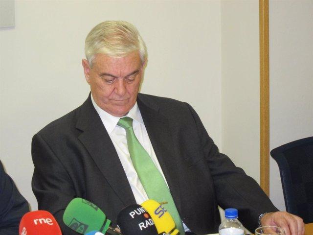 El Presidente Del CES, Nicolás Álvarez