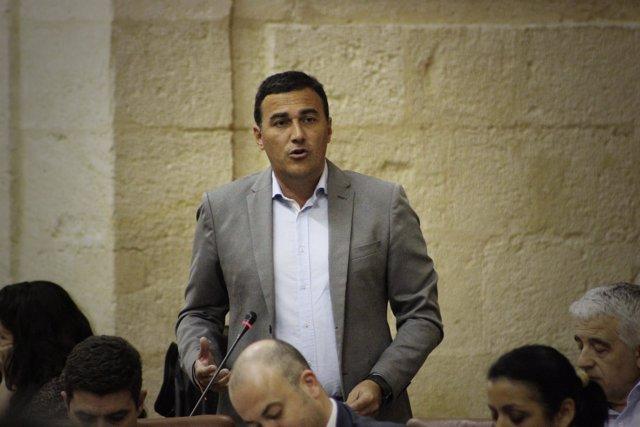 Carlos Hernández White parlamentario andaluz Ciudadanos naranja málaga