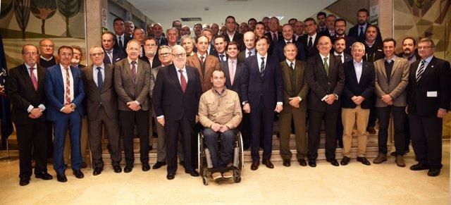 José Ramón Lete se reúne con los presidentes de las federaciones deportivas