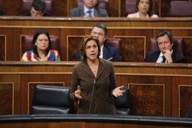 Cospedal no cree que la duración de la legislatura dependa de quién lidere el PSOE y recuerda que no va a apoyar los PGE