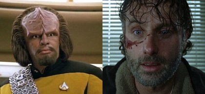 Andrew Lincoln (The Walking Dead) quiere ser un alien en Star Trek: Discovery