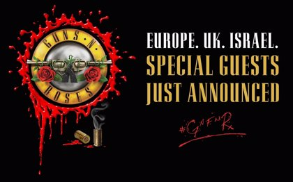 Biffy Clyro, Mark Lanegan, The Kills, Pretenders, Wolfmother y The Darkness, teloneros de la gira de Guns n' Roses