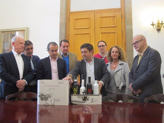 Reunión con los productores de los aceites Jaén Selección 2017.