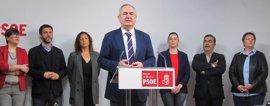 """PSOE dice que dimisión """"no es suficiente"""" y llama a Cs y Podemos a trabajar por gobierno """"de cambio"""""""