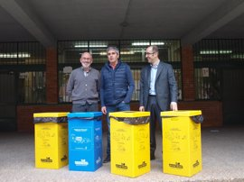 Ayuntamiento de Logroño y Ecoembes fomentan el reciclaje selectivo de residuos en los centros municipales