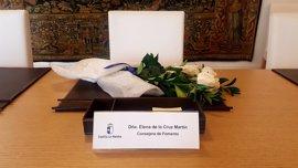 Page y el Gobierno de C-LM muestran su pesar y condolencias tras el fallecimiento de la consejera de Fomento