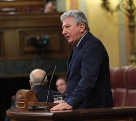 Quevedo (NC) no aclara si apoyará los PGE pero recuerda que no forma parte del Grupo Socialista