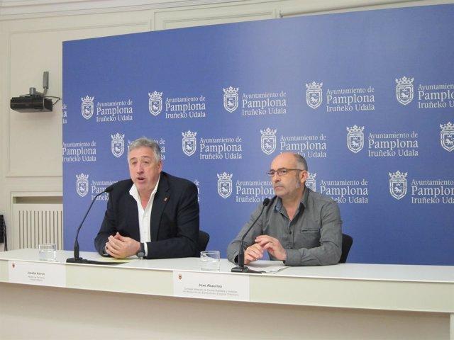 Joseba Asiron y Joxe Abaurrea