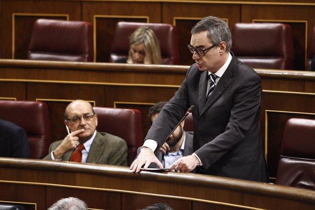 José Manuel Villegas, de Ciudadanos, en el Congreso