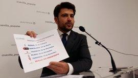 """El PP avisa que las """"previsiones presupuestarias"""" no incluyen la bajada del IBI acordada por PSOE y Cs"""