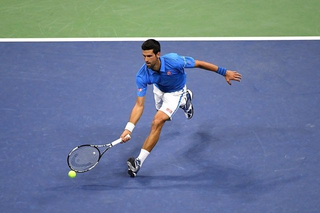 Novak Djokovic en el US Open 2016