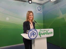 """PP-A dice que la bajada del 36,6% del PGE en Andalucía puede deberse a que las inversiones son """"plurianuales"""""""