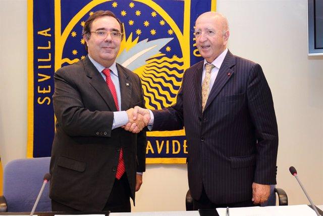 La UPO y el Consulado de Costa de Marfil firman un convenio de colaboración