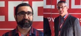 Arturo León y Jaume Mayor se disputan la secretaria general de CCOO PV, tras la renuncia a la reelección de Paco Molina
