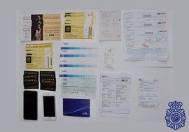 Detenidos tres individuos por estafar más de 100.000 euros por Internet en Ávila y Salamanca