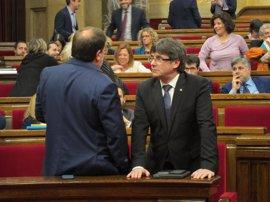 El TC suspende los partidas de los presupuestos catalanes que financian el referéndum