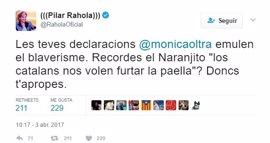"""Oltra replica a la acusación de blaverismo de Rahola: """"La Comunitat  siempre está en el furgón de cola y estamos hartos"""""""