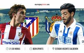 Horario y dónde ver el Atlético de Madrid – Real Sociedad | Jornada 30 Liga Santander