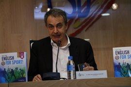 """Zapatero: """"Soy bastante leal al FC Barcelona, aunque no comparta todas las declaraciones"""""""