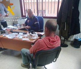 Detenido un traficante responsable de asestar varias puñaladas a un vecino de La Cañada (Ávila) hace un año