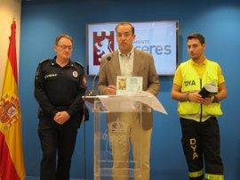 El dispositivo de seguridad para la Semana Santa de Cáceres moviliza a toda la plantilla de la Policía Local