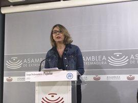 """El PP critica que Extremadura sea la región que """"menos empleo ha recuperado en todo el año"""""""